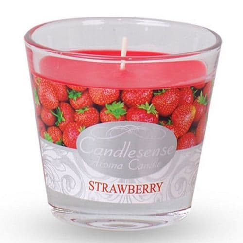 Scented Jar Candle - Strawberry